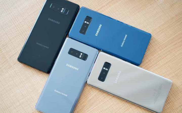 Android 9 Samsung Note 8
