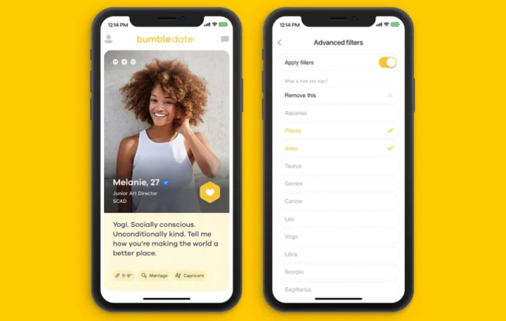does bumble have read receipts