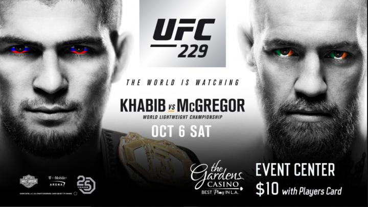 UFC 229 Watch Online