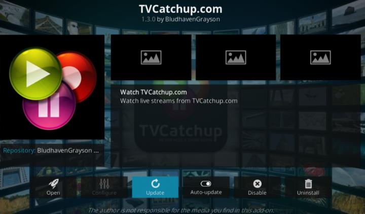 XBMC TVCatchup