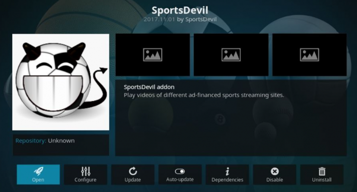 Kodi Sports Add-ons