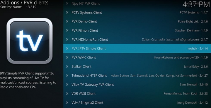 what is pvr on kodi