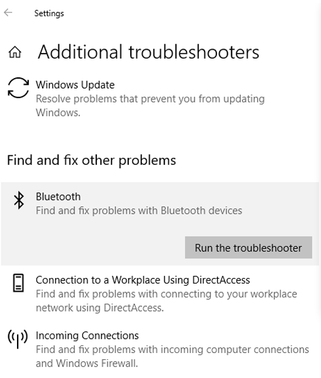 Fix Bluetooth on or off